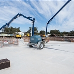 Redcliffe Station concrete pour (2) - September 2018