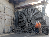 Record METRONET budget as TBM Grace reaches Redcliffe Station