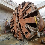 TBM Grace at Bayswater Junction - February 2020
