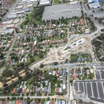 Aerial view of Redcliffe Station site - July 2020