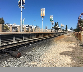 Fremantle Line Platform Demolitions