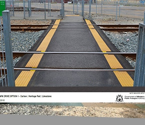 Pedestrian Level Crossing Upgrade Program