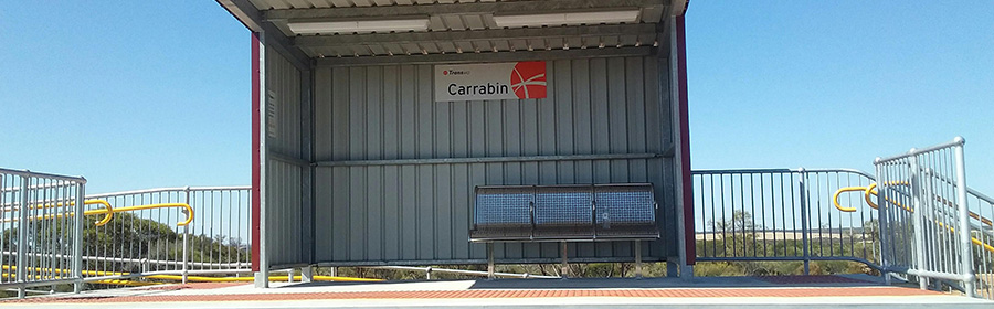 Carrabin Station upgrade