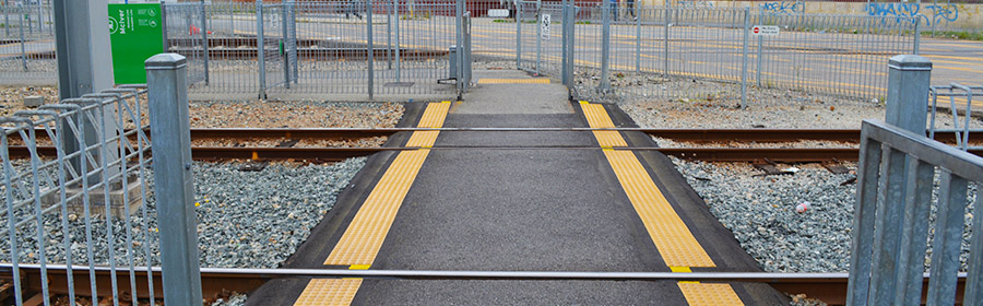 Railroad crossing systems